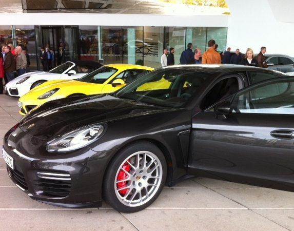 Porsche event Stuttgart